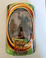 LORD OF THE RINGS FELLOWSHIP OF THE RING ORC OVERSEER ACTION FIGURE TOYBIZ 2001