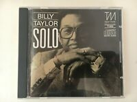 CD - BILLY TAYLOR - SOLO - Clean Used - GUARANTEED