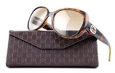 POLARIZED New Authentic GUCCI Havana Brown Womens Sunglasses GG 3644/S DWJ LA