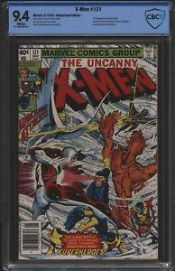 Uncanny X-Men 121 1st Full Appearance Of Alpha Flight CBCS like CGC 9.4  1979