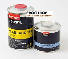 1l 2K Acryl HS VOC Klarlack 1Liter + 0,5l Härter MV 2:1 = 1,5 Liter