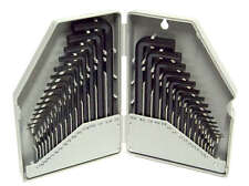 Allen Wrench Hex Key Set 30pc SAE and METRIC Long and Short Arm with Case