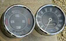 Fomoco Smiths Speedometer and Fuel & Temp Gauge Ford Cortina 1600 Mk2