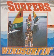 """7"""" Vinyl Single The Surfers Windsurfin` / Nite At The Beach 70`s Polydor"""