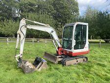 Takeuchi Tb125 3 Ton Mini Digger Excavator