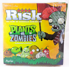 Risk Plants VS Zombies Collector's Edition Board Game Complete New w Damaged Box