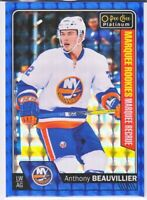 2016-17 OPC Platinum ROYAL BLUE CUBES MARQUEE ROOKIES Anthony Beauvillier 35/99