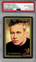 Jay Berwanger autographed signed autograph 1935 Heisman winner 1991 card PSA/DNA