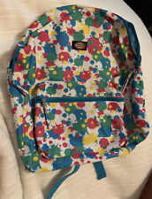Dickies Brand Backpack, Splatter Paint Look, Never Used, New, Tiny Hole