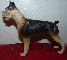 Real Nice Vintage PVC Toy Dog ! China w Missing Paint 5'' High