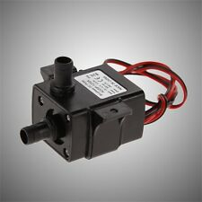 Brand New Genuine DC Water pump 240L/H 12V Mini Ultra Quiet Black Pump HR