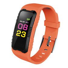 Smart Bracelet Wristband Watch Heart Rate Blood Pressure Sports Fitness Tracker