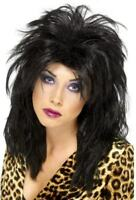 80S POPSTAR WIG - FANCY DRESS LADIES (1980S)