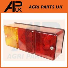 Oblong Rear Trailer Light 12V Stop Tail Brake Lamp Indicator Reflector Bulbs In