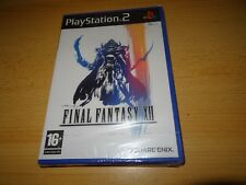 Final Fantasy XII (12) - Playstation 2 (PS2) NEUF et emballé GB version PAL