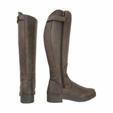 HyLAND Londonderry Winter Country Riding Boots - Dark Brown - EU 36