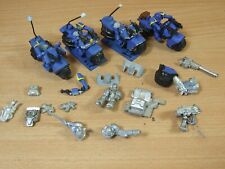 COLLECTION OF WARHAMMER SPACE MARINE BIKES BIKERS AND BITS SOLD AS SEEN (663)