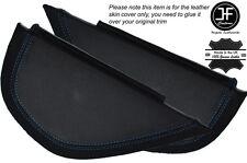 Azul con puntada lateral 2x Dash panel recorte cubiertas de cuero se adapta a Vw Golf Mk6 6 Vi 08-12