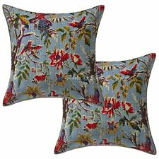 """Abstract Indian Sofa Cushion cover Embroidery Indian Cushion Cover Throw 16"""""""