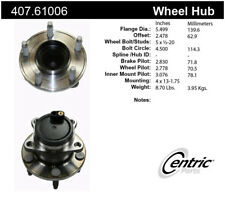Wheel Bearing and Hub Assembly-Premium Hubs Rear Centric 407.61006