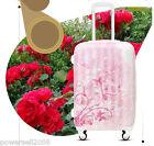 "24"" New TSA Lock Universal Wheel Pink Print Ultralight Travel Suitcase Luggage"
