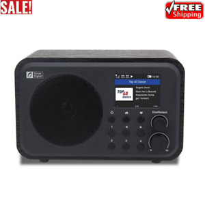 WR-336N Wooden WiFi Internet Radio Rechargeable High-End Bluetooth Speaker 2021