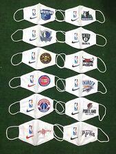Basketball face masks (white)- NBA- Rockets, Thunder, Spurs, Mavericks