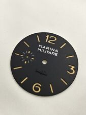 MM /  Marina Militare text dial with gold hand set