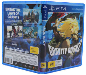 Gravity Rush 2 PS4 PlayStation 4 Replacement Game Case & Cover Art No GAME DISC