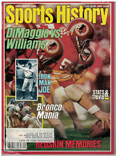 Sept 1988 issue of Sports History Magzine