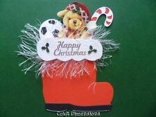 LARGE SANTA'S BOOT DIE CUTS FOR CHRISTMAS CARD TOPPERS