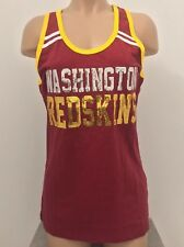 WASHINGTON REDSKINS NFL Team Apparel 5th & Ocean by NEW ERA Womens Tank Top M