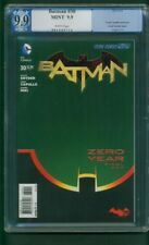 Batman 30 PGX 9.9 Grag Capullo Cover up CGC 9.8 Snyder script new Movie
