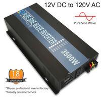 Pure Sine Wave Inverter 3500W Power Inverter 12V 110V 120V Off Grid Solar Home