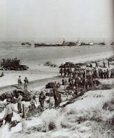 6x4 Gloss Photo ww971 Normandy D-Day Beach Red Beach