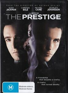 The Prestige - Hugh Jackman, Christian Bale   [R4]