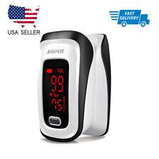Blood Oxygen Finger Pulse Oximeter Fingertip Monitor SpO2 Heart Rate Meter FDA