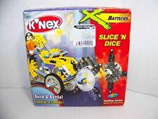 K'Nex Battlers Slice 'N' Dice Building Set Knex New