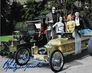 Munsters Cast & Hot Rods 13 x 16 Inch Reproduction Pat Priest Reprint TV Poster