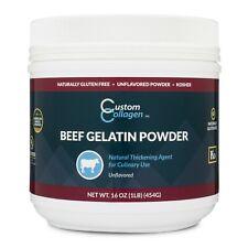 Plain Gelatin Powder - Unflavored, Kosher, Pure - Culinary Use - Jello - Gummy