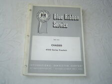 Ih International 4100 4Wd tractor chassis service manual