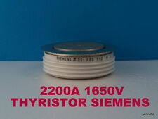 POWER THYRISTOR BSTR65 110 SIEMENS  2200A  1650V VERI RARE ORIGINAL OLD STOCKS