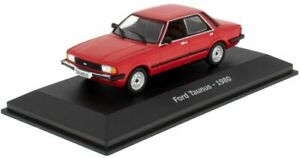 HACHETTE FORD TAUNUS RED 1980 1-43 SCALE NA04