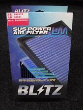 NEW Blitz SUS Power LM Air Filter Mitsubishi Lancer Evo CN9A CP9A CT9A 4 5 6 7 8