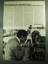 1968 Hasselblad Camera System Ad - Some People