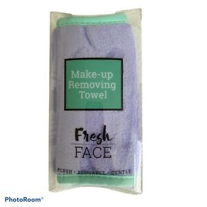 Reusable Makeup Removing Cleansing Towel Fresh Face All Skin Types Purple