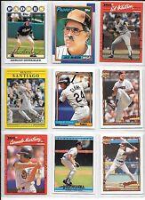 Adrian Gonzalez plus 8 more San Diego Padres baseball card lot