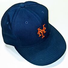 Vtg New York Mets New Era Authentic Diamond Collection Fitted Hat Size 7 1/4 cap