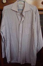 Mens FACONNABLE 161/2 100% Cotton Shirt Long Sleeve