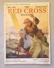 May 1918 RED CROSS MAGAZINE Edna Ferber SIDNEY RIESENBERG John Frost